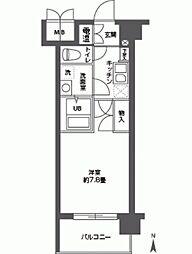 CASSIA高井田NorthCourt[0106号室]の間取り