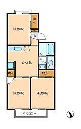 サンVパークIII[2階]の間取り