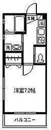 チェリーハウス[102号室]の間取り