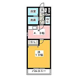be−full II[2階]の間取り