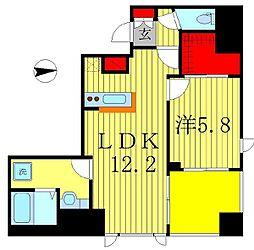 仮)八州ビル 新築工事[7階]の間取り