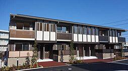 徳島県徳島市南島田町2丁目の賃貸アパートの外観