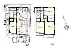 建物参考プラン:間取り/4LDK、延床面積/99.15?、土地建物参考価格/8780万円(税込)\n