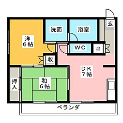 近鉄蟹江駅 5.5万円