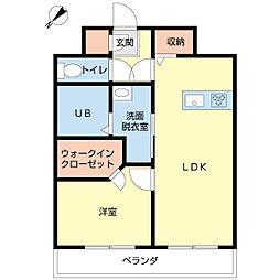 新潟県新潟市中央区本町通1番町の賃貸マンションの間取り