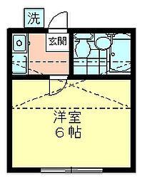 エクセレント久米川[202号室]の間取り