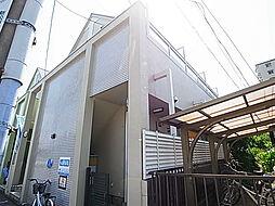 千葉県松戸市新松戸2の賃貸アパートの外観