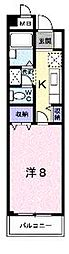 香川県綾歌郡宇多津町浜六番丁の賃貸マンションの間取り