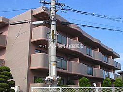 マンション ボーベール[1階]の外観