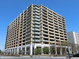 東京都立川市緑町の賃貸マンションの外観