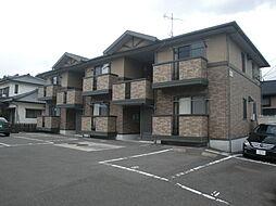 長崎県諫早市久山町の賃貸アパートの外観