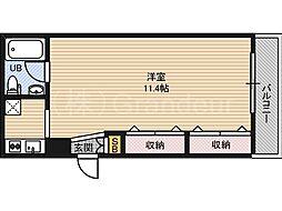 ヒーズハウス2[2階]の間取り