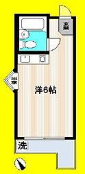 ジョイフル中野坂上[3階]の間取り