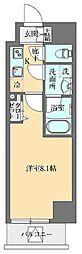GRAN PASEO本郷三丁目(グランパセオ本郷三丁目) 4階1Kの間取り