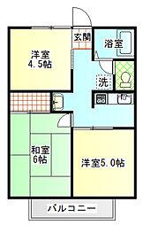シティハイム本市場[1階]の間取り