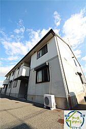 兵庫県明石市魚住町長坂寺の賃貸アパートの外観