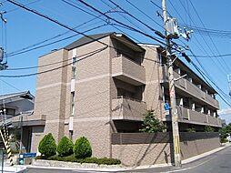 京都府宇治市五ケ庄寺界道の賃貸マンションの外観