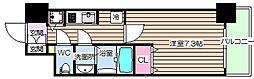 プリエ福島[2階]の間取り
