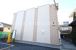 東京都三鷹市下連雀7丁目の賃貸アパートの外観