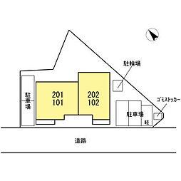 MORINOKI[102号室]の外観