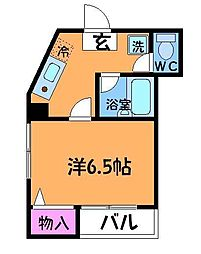 F・Yハイア[3階]の間取り