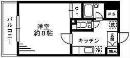 ソナーレ湘南台[301号室]の間取り