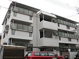 大阪府高槻市津之江町3丁目の賃貸マンションの外観