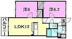 ソレアード・45[302 号室号室]の間取り