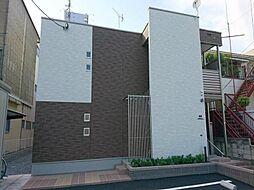 埼玉県川口市朝日3丁目の賃貸アパートの外観