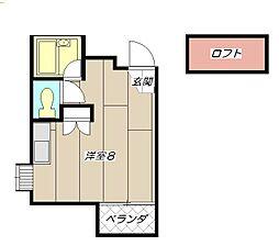 ソフィー21長浜[305号室]の間取り