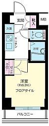 東京都品川区西五反田7丁目の賃貸マンションの間取り