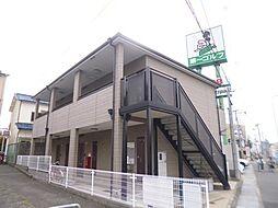 大阪府堺市西区神野町3丁の賃貸アパートの外観