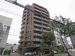 北海道札幌市中央区南二条西22丁目の賃貸マンションの外観