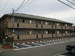 埼玉県鶴ヶ島市松ヶ丘3丁目の賃貸アパートの外観