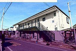 埼玉県川口市南鳩ヶ谷の賃貸アパートの外観