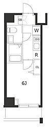 ラフィスタ川崎IV[8階]の間取り