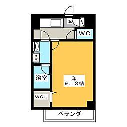 駅前町新築マンション[1階]の間取り