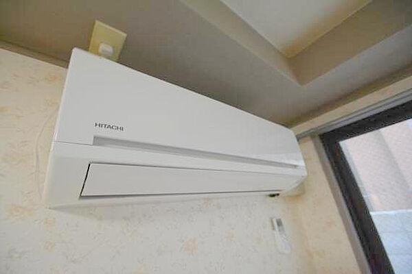 CTビュー小阪のエアコンが最初からついているのは、本当に助かりますね。