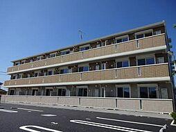 千葉県木更津市長須賀の賃貸アパートの外観