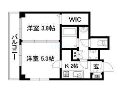 東福寺駅 7.2万円