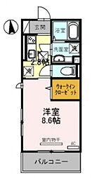 仮称)竹田向代町D-room[106号室号室]の間取り