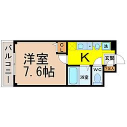 愛知県名古屋市中村区道下町1の賃貸マンションの間取り