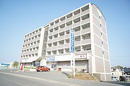 福岡県古賀市中央2丁目の賃貸マンションの外観