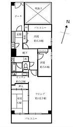 JKハイム[4階]の間取り