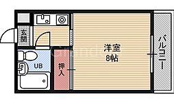 ハイムM&K今津[1階]の間取り