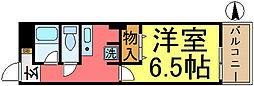 東京都江戸川区中央1丁目の賃貸マンションの間取り