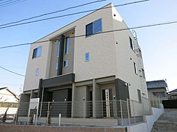 愛知県岡崎市真伝町字抱六岩の賃貸アパートの外観