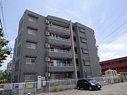 山梨県甲府市大里町の賃貸マンションの外観