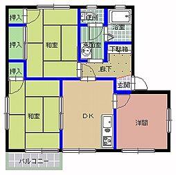 アネックスハイム A棟[2階]の間取り