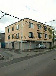 北海道札幌市北区篠路四条8丁目の賃貸アパートの外観
